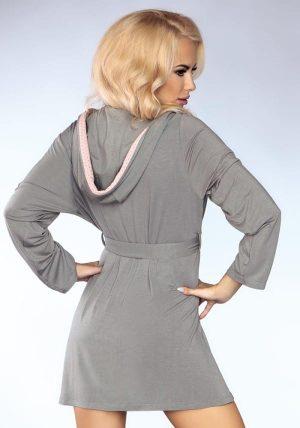 Lisa Soft Morgenkåpe - Back - Livia Corsetti - Nightwear By Valerie