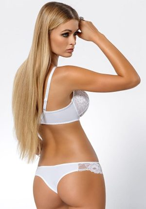 Cleo Soft-BH white - Back - Pari Pari By Valerie