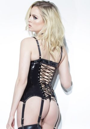 Darque BH black - Back - Coquette By Valerie