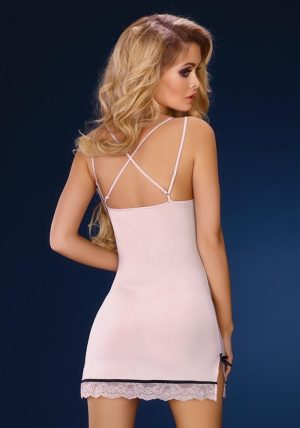 Leslie Babydoll & String rosa - Back - Livia Corsetti - Nightwear By Valerie