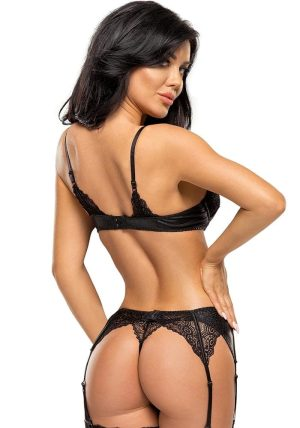 Marilyn Sett sort - Back - Beauty Night - Lingerie By Valerie