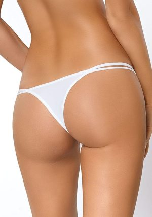Sari String white - Back - Pari Pari By Valerie