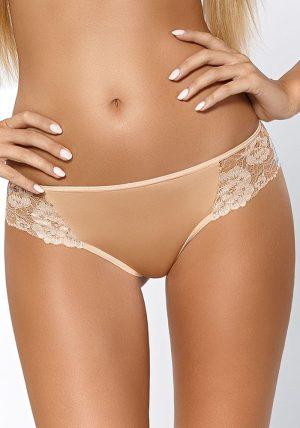 Elegant Tavia Stringtruse Beige blonde - Foran - Pari Pari - Lingerie By Valerie
