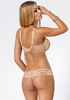 Tavia Push-up BH beige-nude - Back - Pari Pari By Valerie