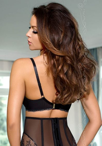 Rhone Soft Balconette black – Back – Axami By Valerie