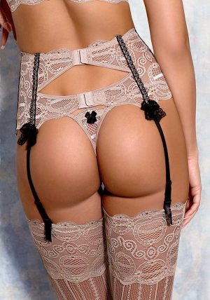 Nougat String gray - Back - Axami By Valerie