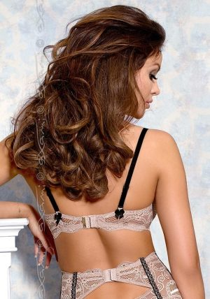 Nougat Push-up BH gra-no - Back - Axami By Valerie