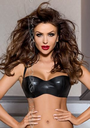 Piment Push-up Balconette black - Front - Axami By Valerie