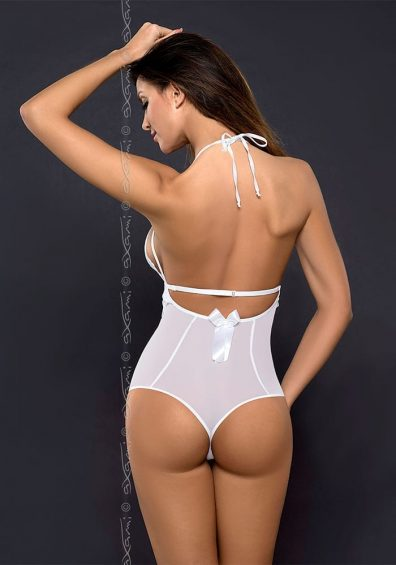 Noa Body hvit – Back – Axami – Lingerie By Valerie