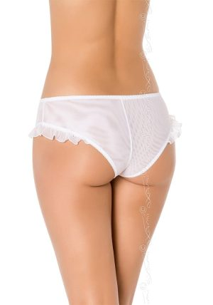 Congratulations Briefs white - Back - Axami By Valerie