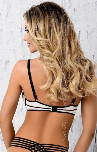 Zephyr Push-up BH beige-nude - Back - Axami By Valerie