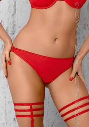 Breva String red - Front - Axami By Valerie