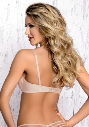Sirocco Push-up BH beige-nude-no-2 - Back - Axami By Valerie