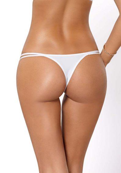 Cassi String hvit – Back – Pari Pari By Valerie