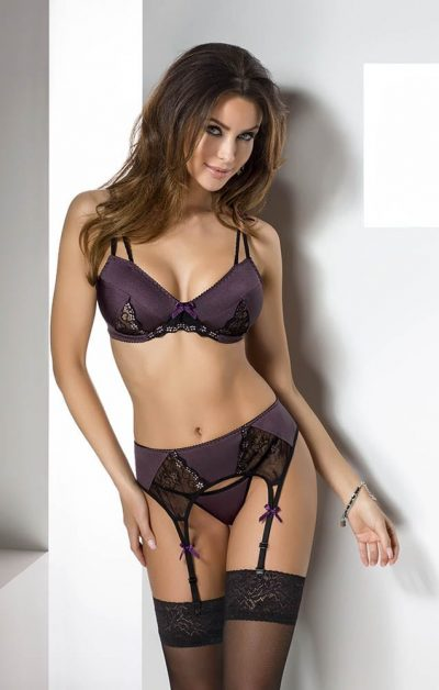 Irma Sett purple - Back - Casmir - Lingerie By Valerie