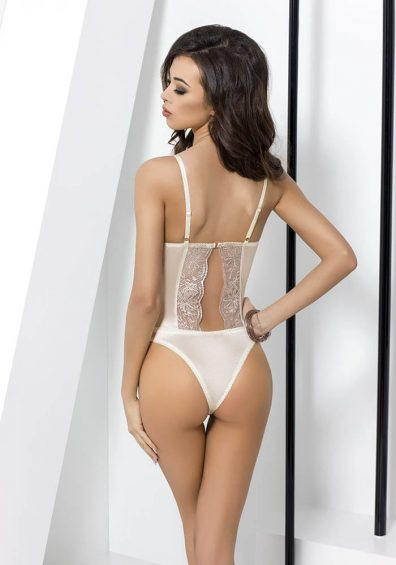Lotus Body hvit – Back – Passion – Lingerie By Valerie