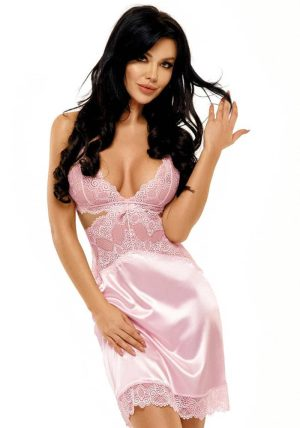Adelaide Chemise pink - Front - Beauty Night - Nightwear By Valerie