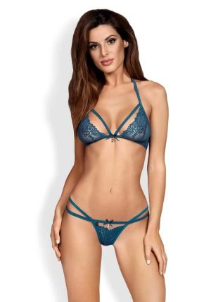 838 2 Piece Set blue - Front - Obsessive By Valerie