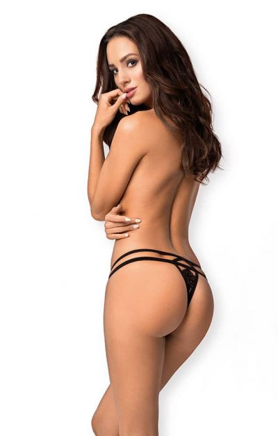 838 Tho Thong Black - Back - Obsessive - Panties - By Valerie
