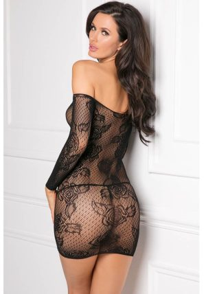 Tie Breaker Sort - Bak - René Rofé - Bodystocking By Valerie