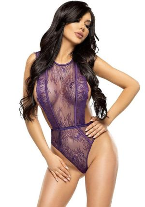 Emiliana Teddy Purple - Front - Beauty Night - Bodys By Valerie
